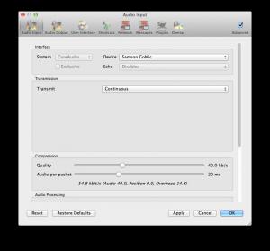 Mac Settings